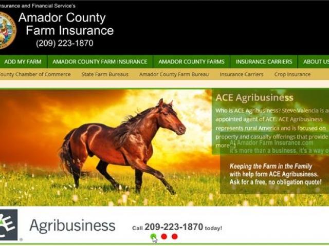 Amador County Farm Insurance