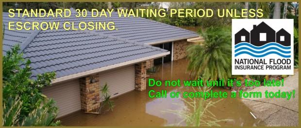 Flood Insurance premium reserve