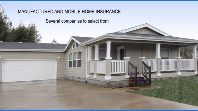 Manufactured Home Insurance Sutter County