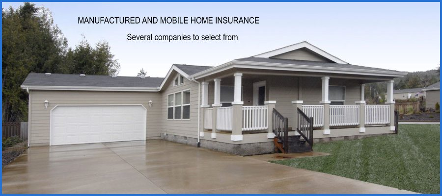 Mobile Home Insurance and Manufactured Home Insurance